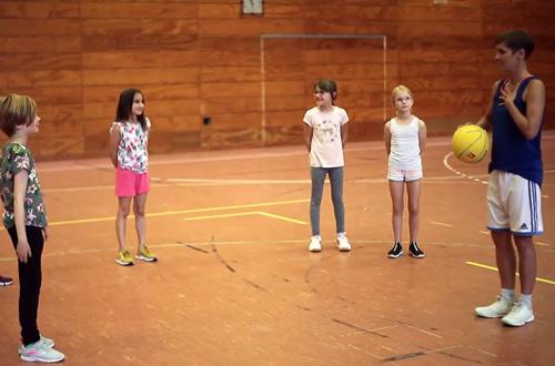 Video Mädchensport